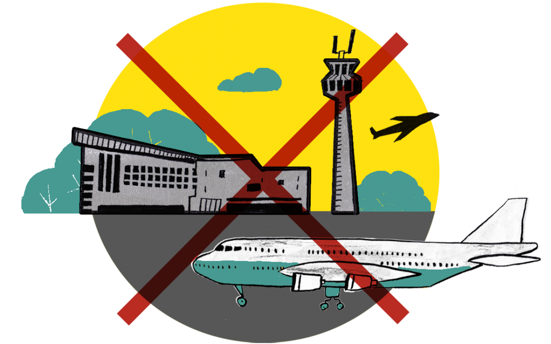 Call to ban short haul flights in France