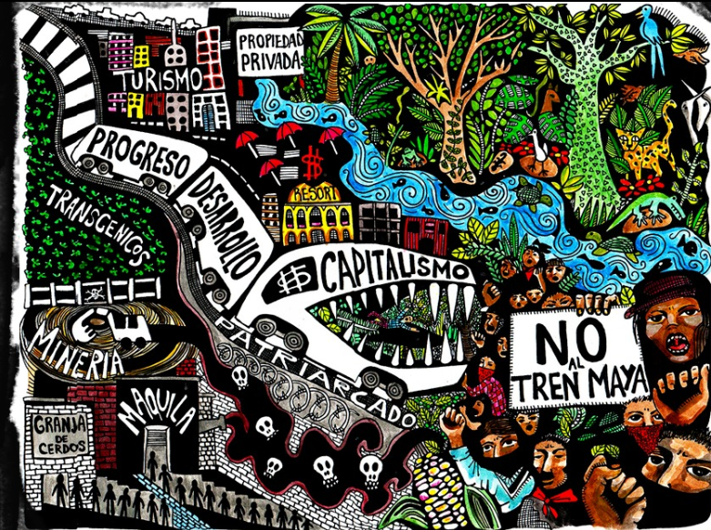 "Not every train is good – Why we have to say  ""NO to the Maya train"""